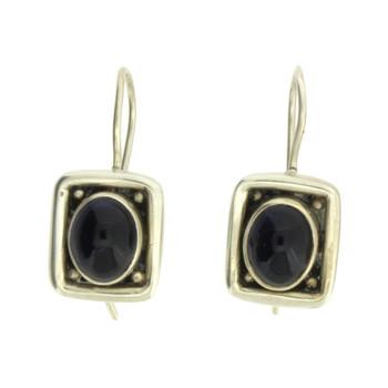 Sterling Silver Dark Purple Iolite Earrings Jewelry