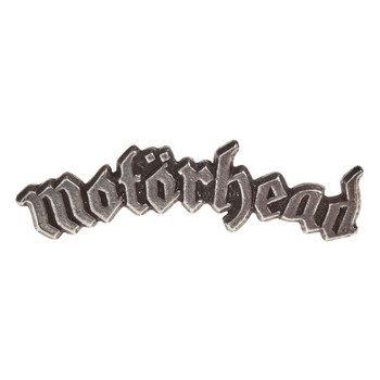 Motorhead Band Logo Enamel Pewter Pin Rock and Roll Clothing Accessory PC501
