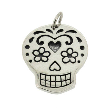 Day of the Dead pendant charm.