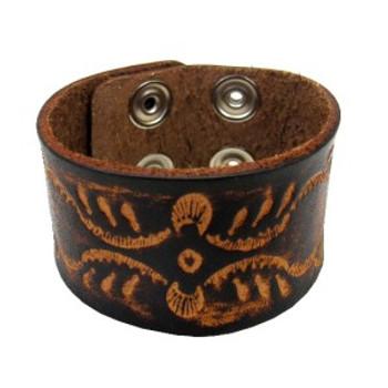 Brown bohemian style bracelet.