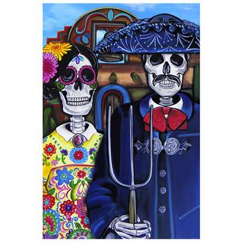 Mex Am Gothic Art Print