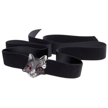 Alchemy Gothic Cat Bastet Goddess Choker Necklace Pewter Jewelry P817