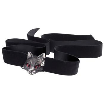 Alchemy Gothic Cat Bastet Goddess Choker Necklace Pewter Jewelry P817