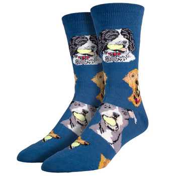 Ball Dog Men's Crew Socks