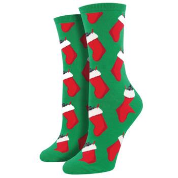 Socksmith Women/'s Crew Socks Sloth Bling Red Raspberry Novelty Footwear