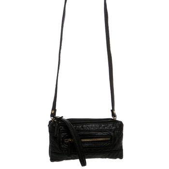 Wristlet Crossbody Shoulder Bag Clutch Purse Black