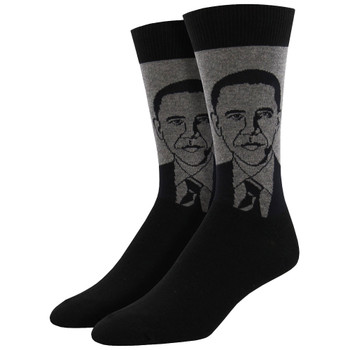 Socksmith Men's Crew Socks President Barack Obama