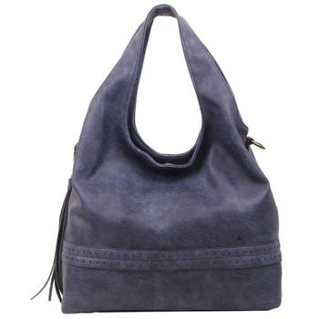 The Amia Hobo Blue Purse Bohemian Tote Crossbody Shoulder Bag