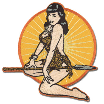 Bettie Page Jungle Girl Patch