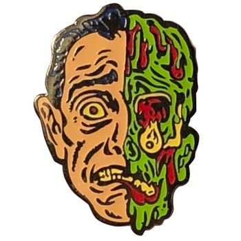 Melted Man Zombie Enamel Pin Ghoulsville Monster Mask Creepy Collectable