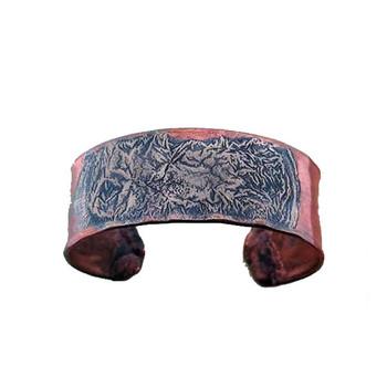 Copper Clamp Cuff Bracelet Metal Made in USA Rustic Jewelry