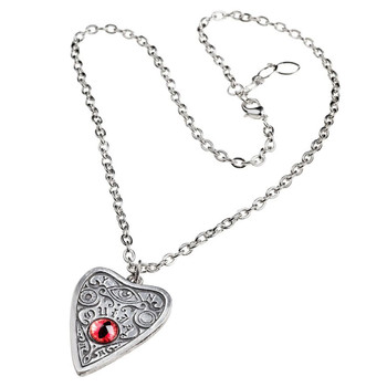 Alchemy Gothic Third Eye Petit Ouija Board Pendant Necklace Pewter Jewelry P860