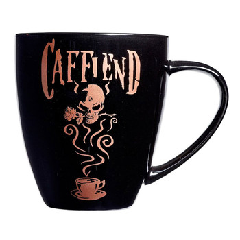 Alchemy Gothic Caffiend Coffee Mug Drinking Cup