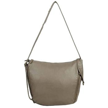 The Joia Convertible Sack Crossbody Shoulder Bag Purse Grey