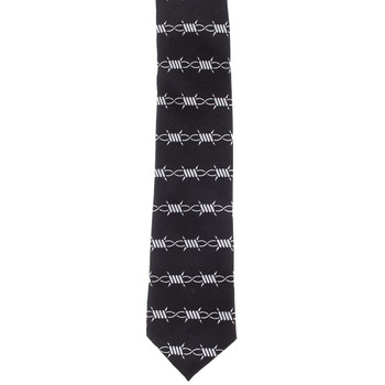Kustom Kreeps Barbed Wire Graphic Men's Tie