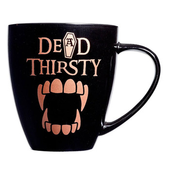 Alchemy Gothic Dead Thirsty Coffee Mug Drinking Cup