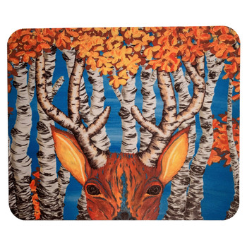 Gone Hunting Deer Mouse Pad
