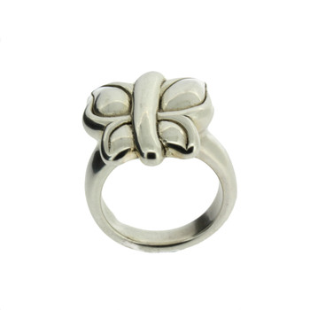 Butterfly Design Sterling Silver Ring