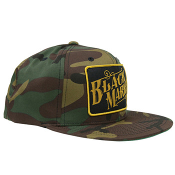 Black Market Art Camo Snap Back Trucker Hat