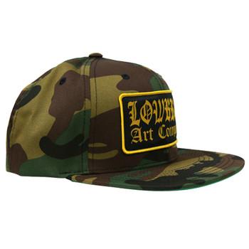 Lowbrow Art Company Camo Snap Back Trucker Hat