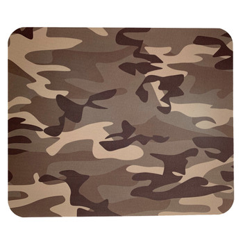 Computer Mouse Pad Desk Accessory Brown Camouflage