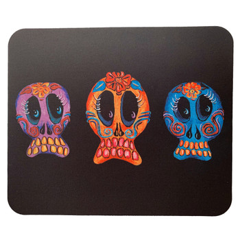 Sugar Skull Trio Mouse Pad