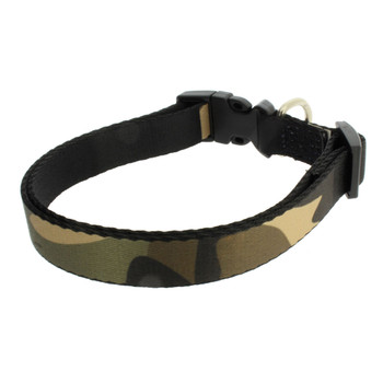 Camouflage Dog Collar Adjustable 16-20 Inches