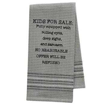 Funny Novelty Cotton Kitchen Dishtowel Kids For Sale