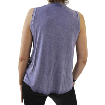 Wanderlux Peace Love Tank Top back view
