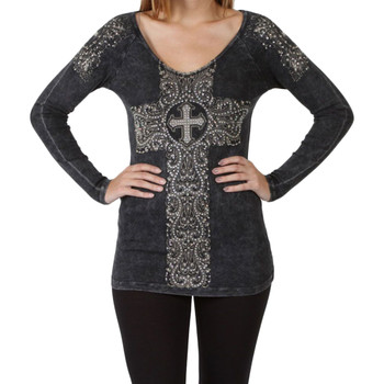 Vocal Apparel Black Long Sleeve Shirt