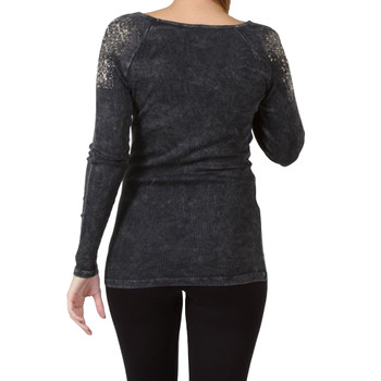 Vocal Apparel Black Long Sleeve Shirt  back view