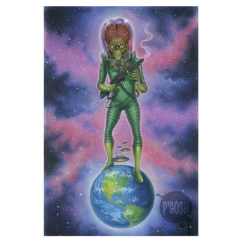 P'gosh Mars Attacks™ Tribute Print