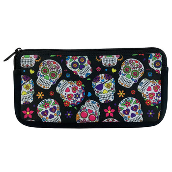 Sugar Skull Cosmetic Bag Pouch