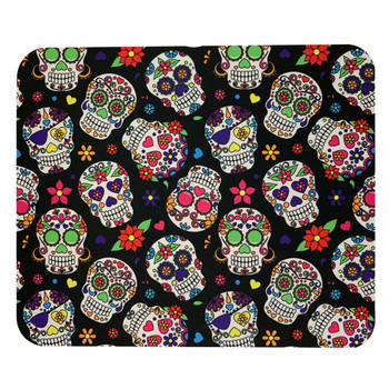 Multi Sugar Skull Mouse Pad Mat
