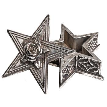V59 Pentagram Star Decorative Box inside view