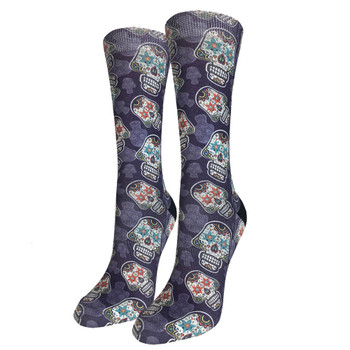 Sugar Skulls Women's Crew Socks