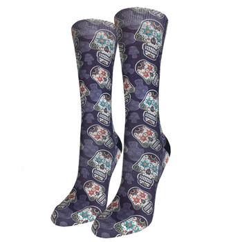 Sugar Skulls Women's Crew Socks