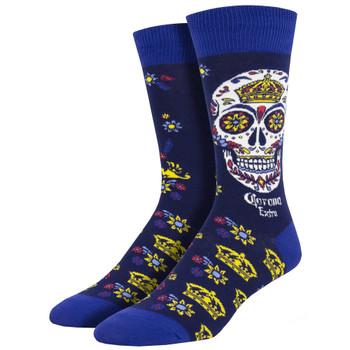 Men's Corona Muertos  Crew Socks