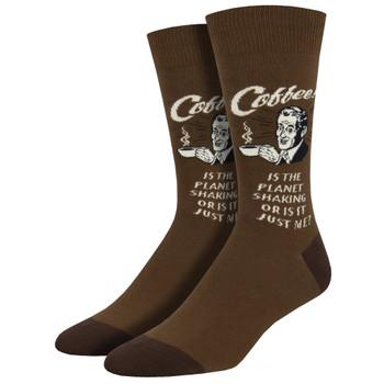 Men's Crew Socks No Beans About It