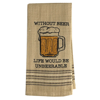 Mona B Dishtowel Without Beer