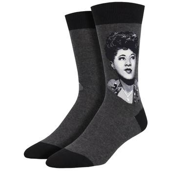 Ella Fitzgerald Men's Crew Socks
