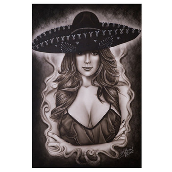 Big Ceeze Mexican Beauty Fine Art Print