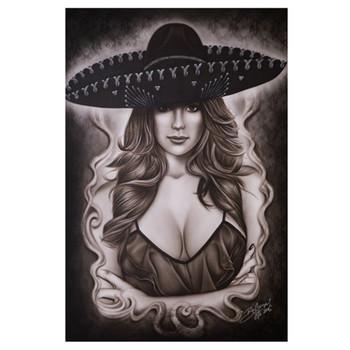 Big Ceeze Mexican Beauty Fine Art Print