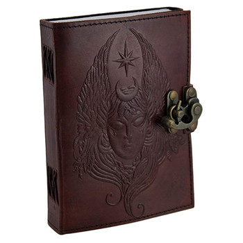 Moon Goddess Journal Blank Page Diary