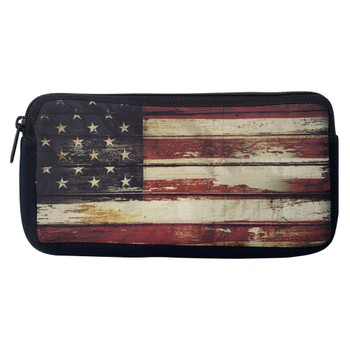 USA Flag Cosmetic Bag Pouch