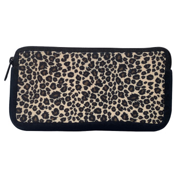 Leopard Animal Print Cosmetic Bag
