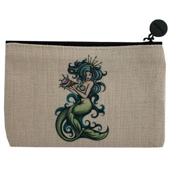Tattoo Mermaid Small Cosmetic Bag