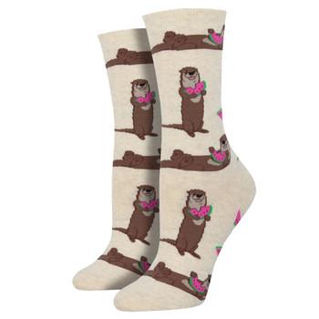 Ottermelon Women's Crew Socks