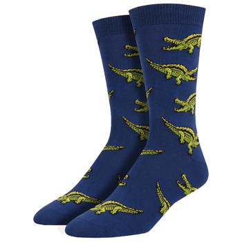 Men's Bamboo Gator Socks