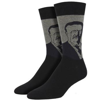 Teddy Roosevelt Men's Crew Socks